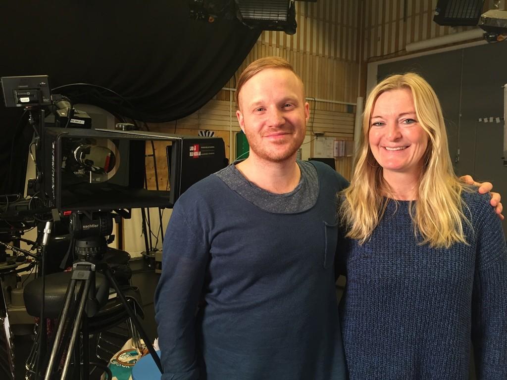 Jesper Englin, redaktör och utbildare för Respect All, Compete och Lisa Belfrage, producent på UR.